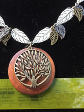 Load image into Gallery viewer, Wooden Tree of Life Necklace