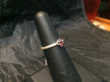 Load image into Gallery viewer, Natural Rhodolite Sterling Silver Ring