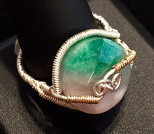 Load image into Gallery viewer, Watermelon Tourmaline in Fine Silver and Vermeil