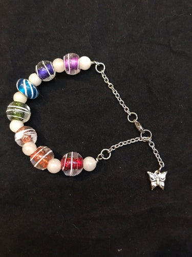 Stainless Steel Rainbow Bracelet II