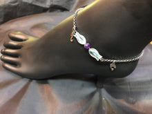 Load image into Gallery viewer, All Your Nautili in a Row Stainless Steel Anklet