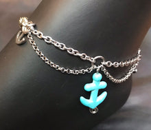 Load image into Gallery viewer, Anchor Swag Stainless Steel Anklet