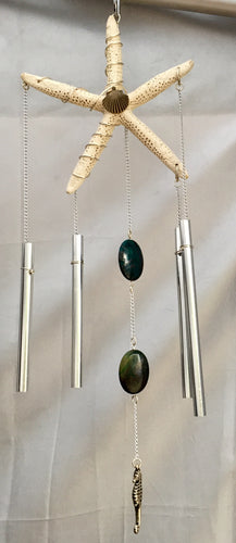 Scallop and Seahorse Wind Chimes