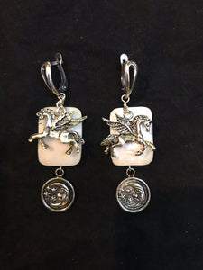 Pegasus with Mother of Pearl