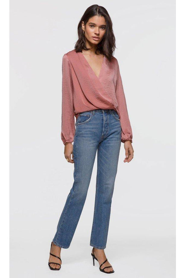Anna Draped Front Blouse - late bird