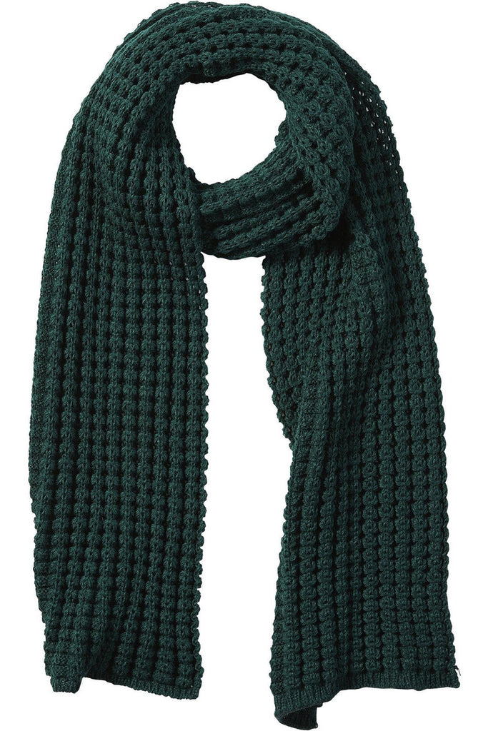 Annaleigh Chunky Knit Scarf in Forrest Green - late bird