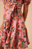 Aranciata Wrap Dress - late bird