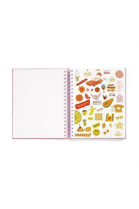 "Large 12-Month Annual ""Big Plans"" Planner"