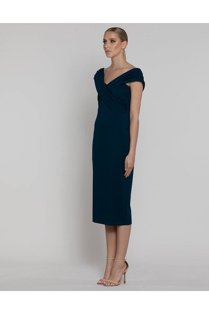 Davina Crossover Dress - late bird
