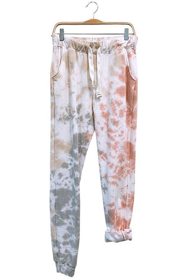 Dusk til Dawn Tie Dye Sweatpants - late bird