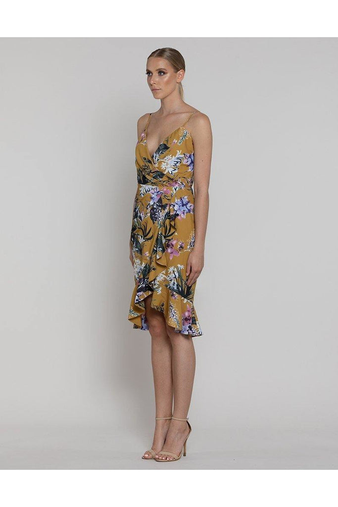Edina Wrap Dress - late bird