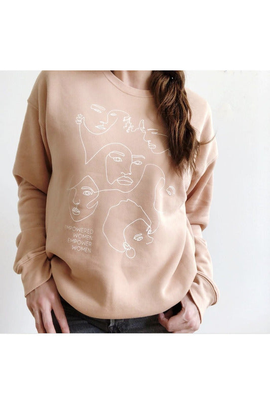 Empowered Women Sweatshirt - late bird