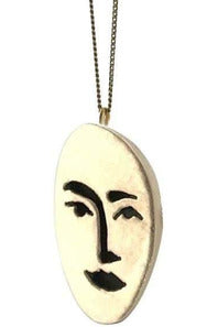 Face in the Crowd Necklace - late bird