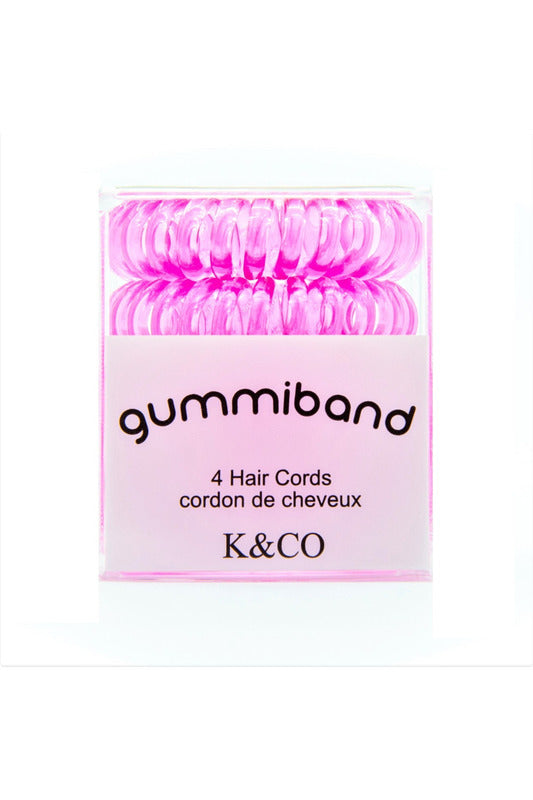 GummiBand 4 Hair Cord Set - late bird