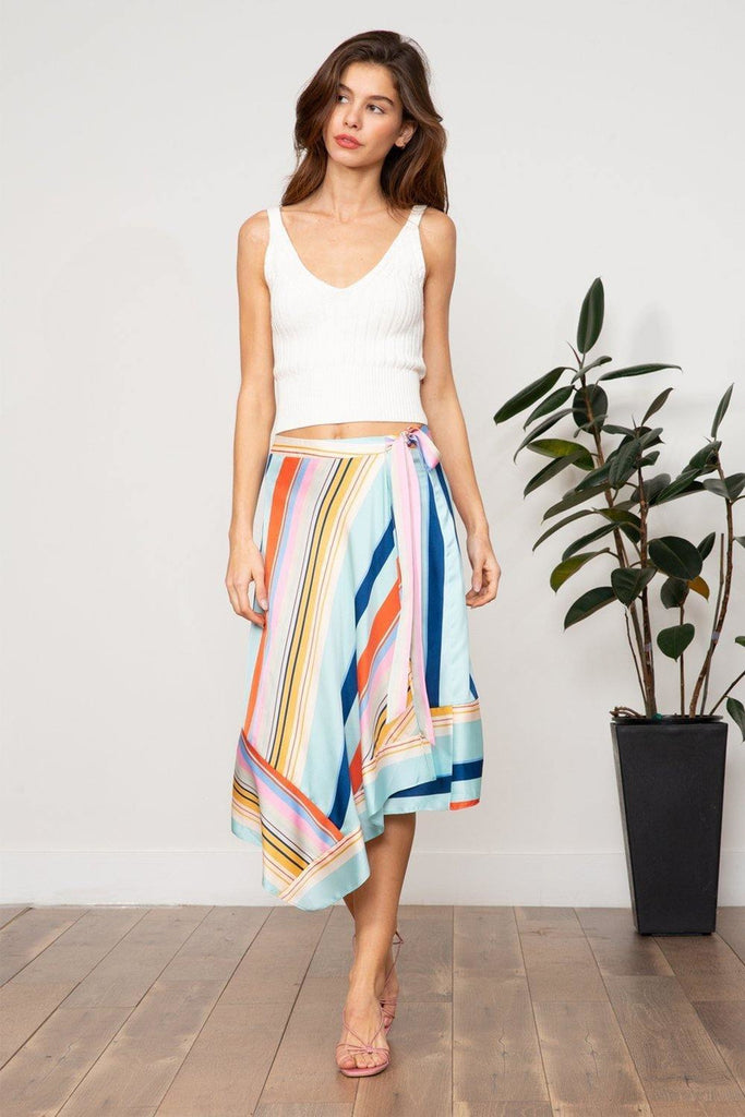 Harlow Wrap Skirt - late bird