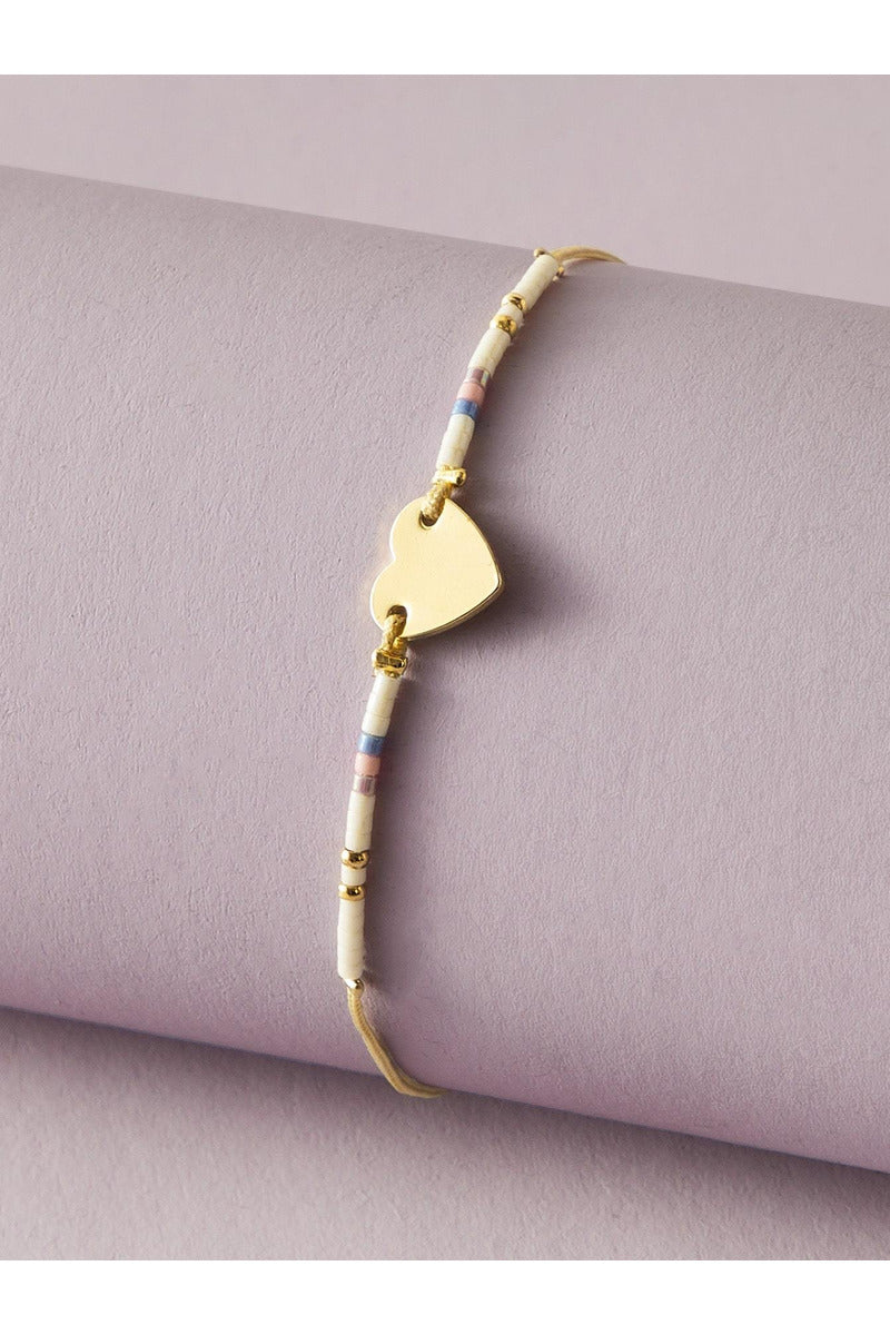 Have A Lil Heart Friendship Bracelet - late bird