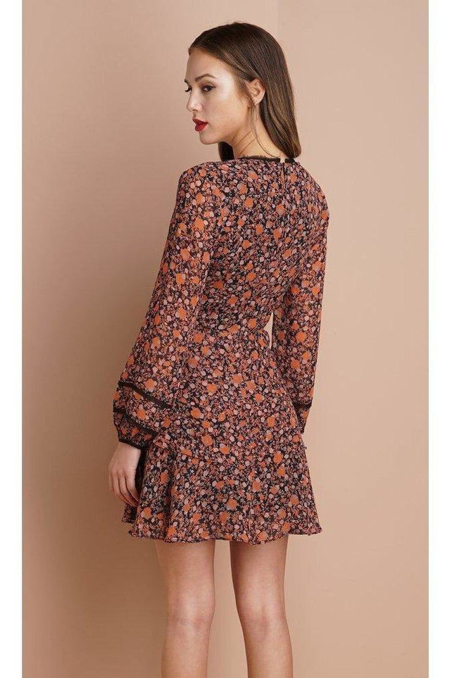 Haylie Long-Sleeve Dress - late bird