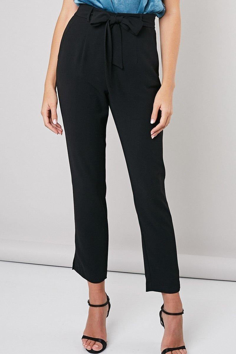 High-Rise Woven Trouser - late bird
