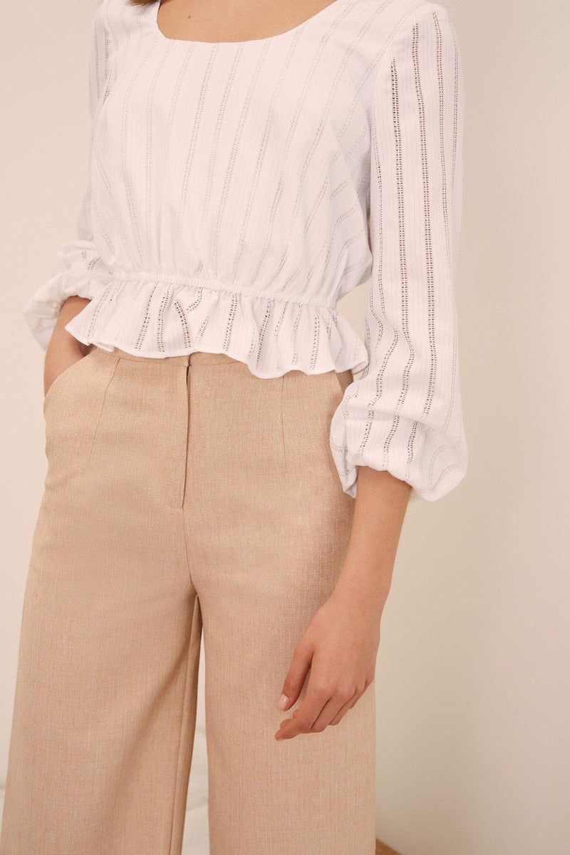 Kite Stripe Crop Top - late bird