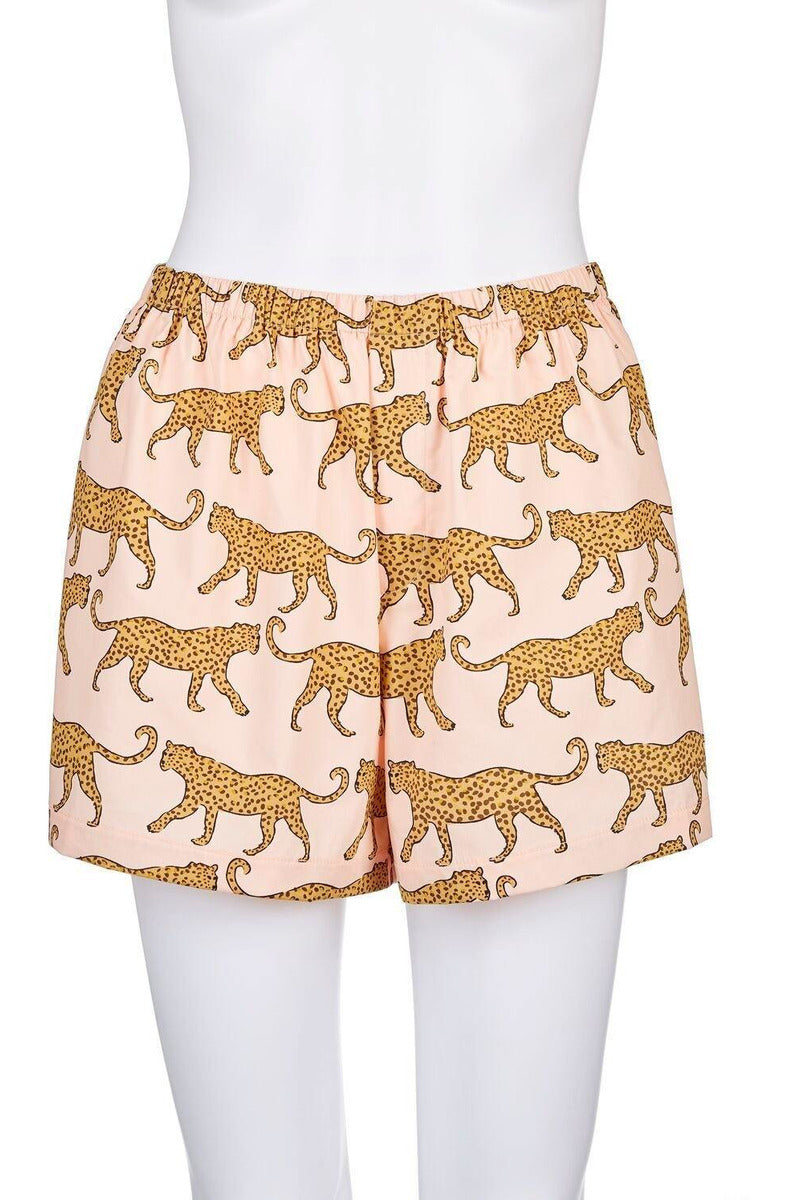 Leopard PJ Shorts - late bird