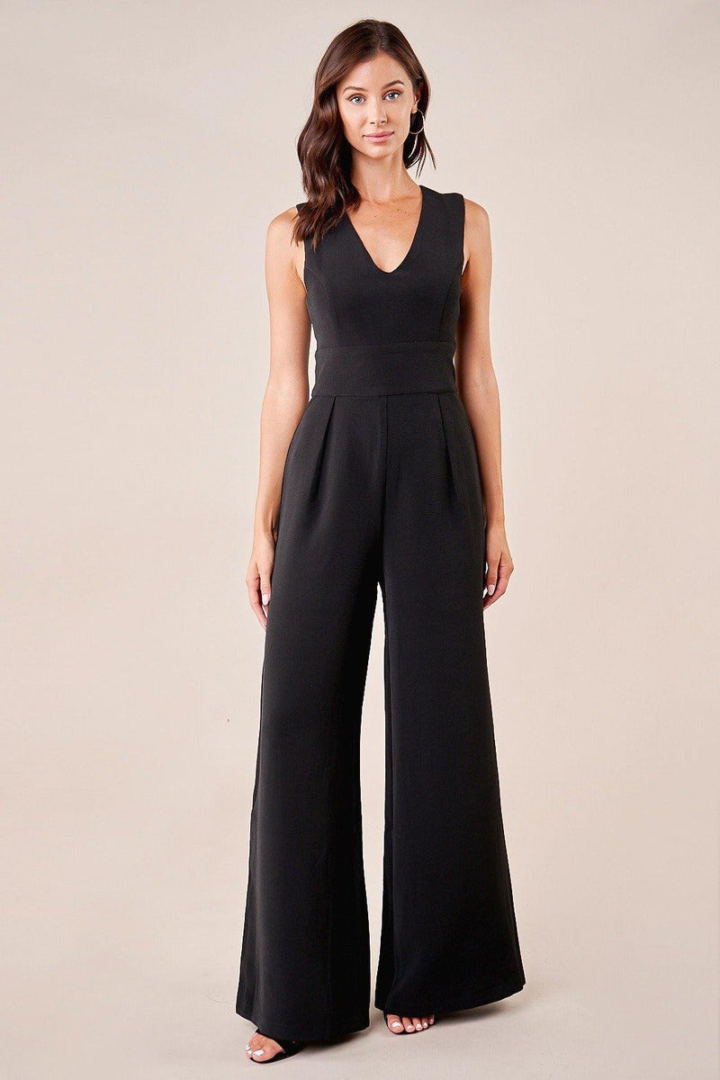 Mandy Wide-Leg Jumpsuit - late bird