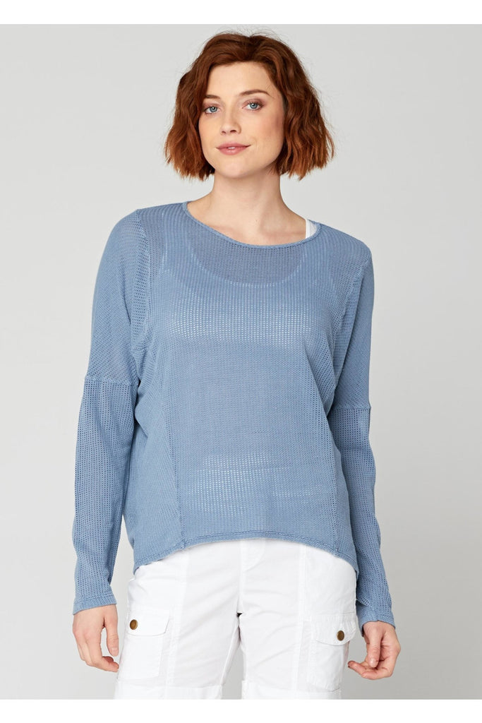 Marissa Mesh Top - late bird