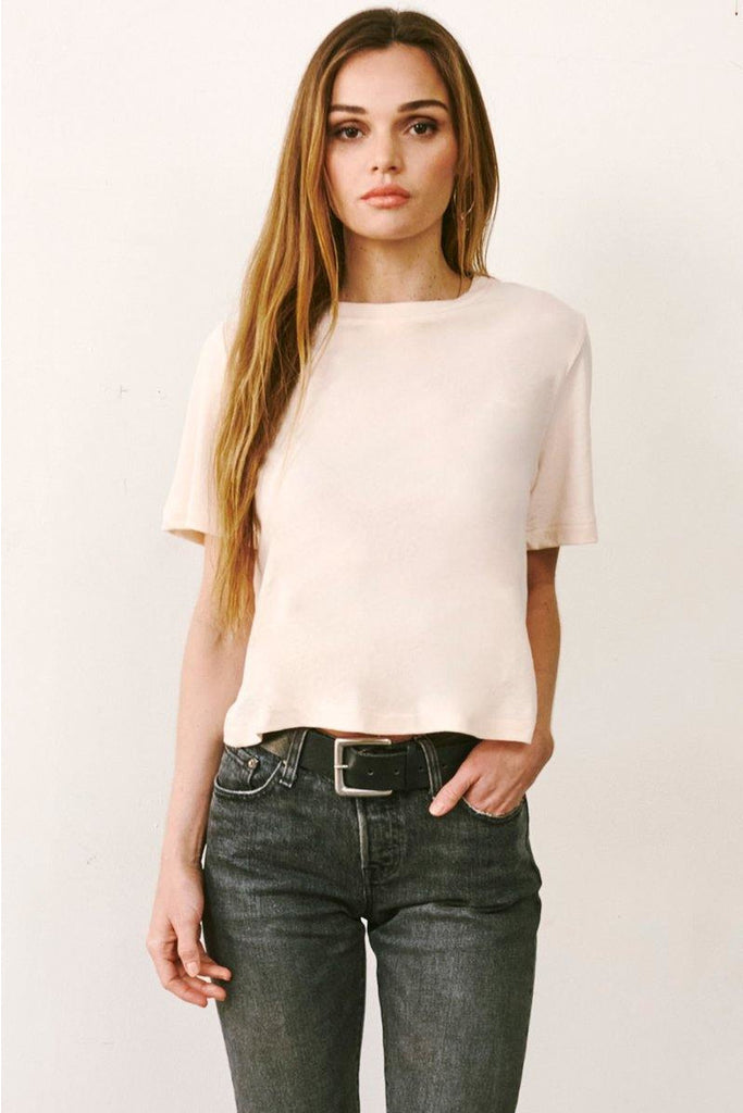 Perfectly Cropped Tee - late bird