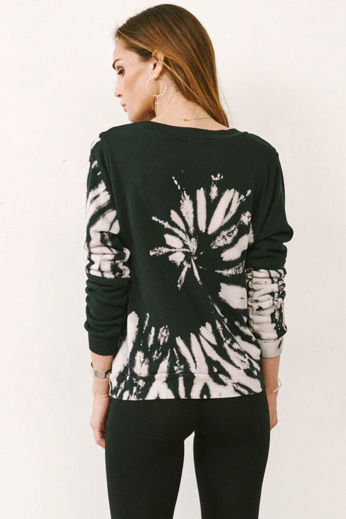 Perla Sweatshirt in Black - late bird