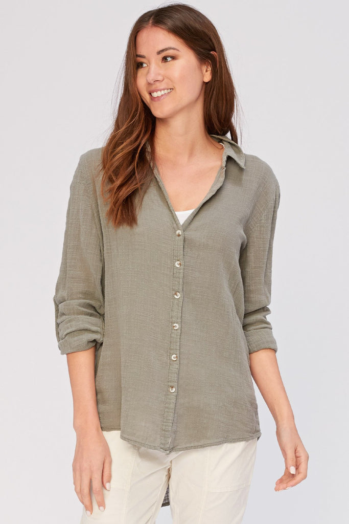 Porter Blouse in Fern - late bird