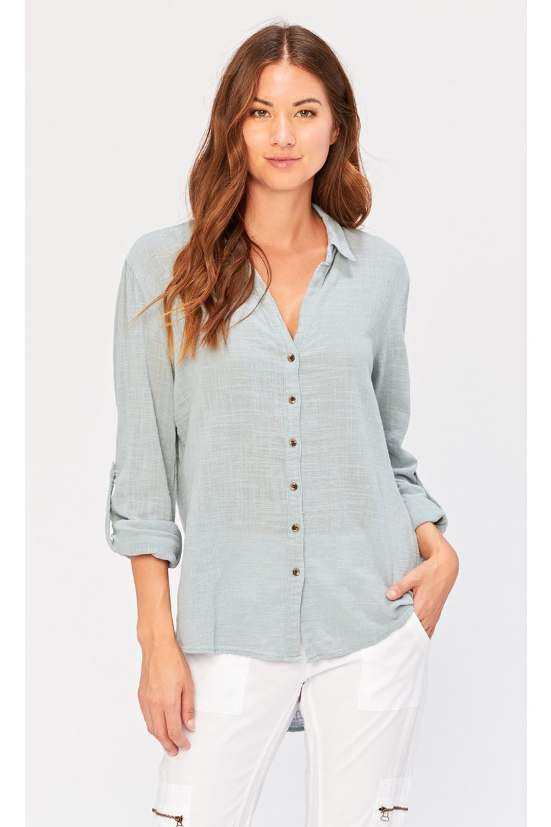 Porter Blouse in Serenade - late bird