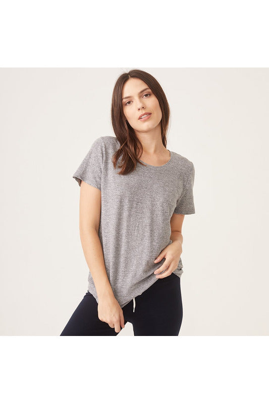 Relaxed Crew Neck Tee - late bird