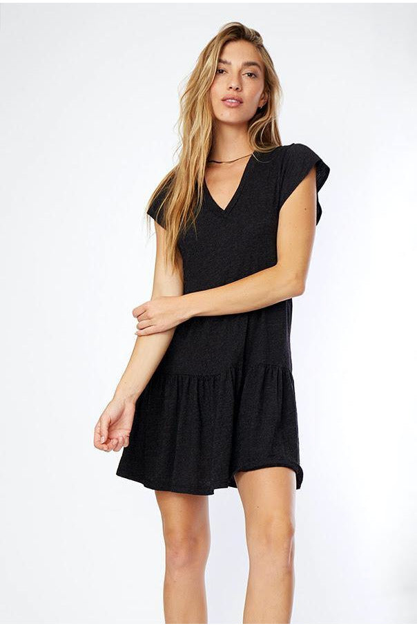Ruffle Mini Dress - late bird
