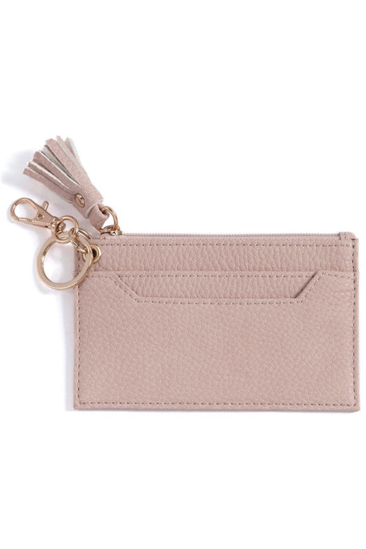 Sara Card Case in Blush - late bird