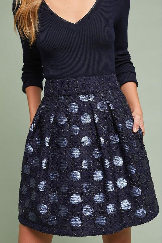 Sequin Mini Skirt - late bird