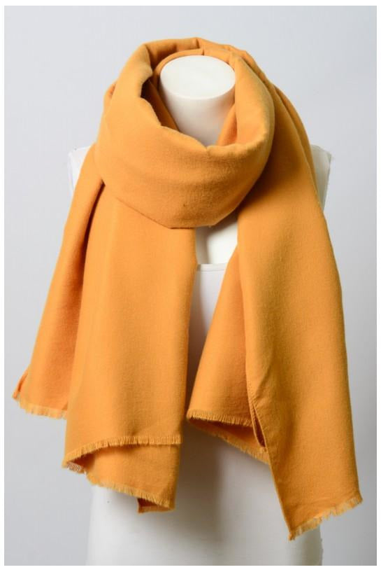 Solid Blanket Scarf - late bird