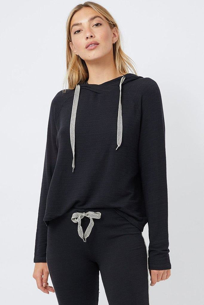 Supersoft Chevron Pullover Hoodie - late bird