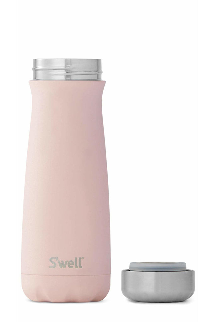 S'well® Stainless Steel 20oz Traveler in Pink Topaz - late bird