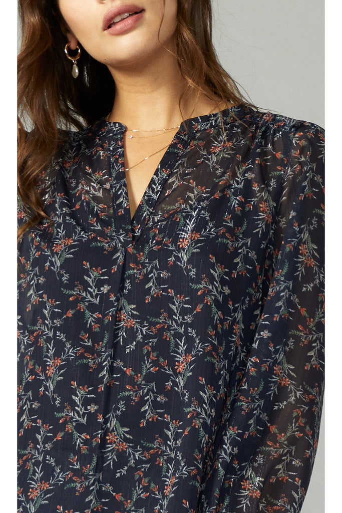 The Georgette Blouse - late bird