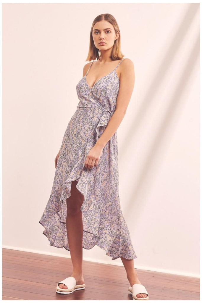 Tour Wrap Dress - late bird