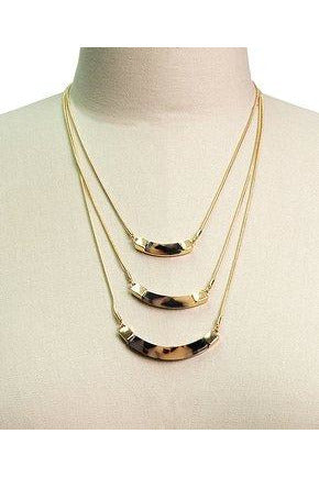 Triple Layer Necklace - late bird