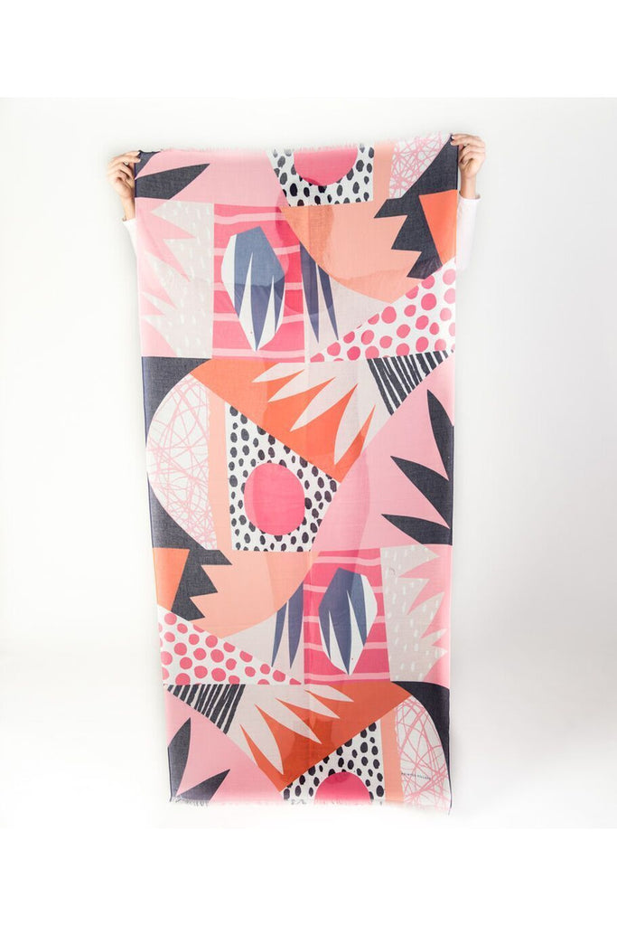 Tropical Sherbet Scarf - late bird