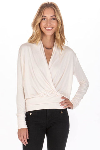 Victoria Top in Angel Wing - late bird