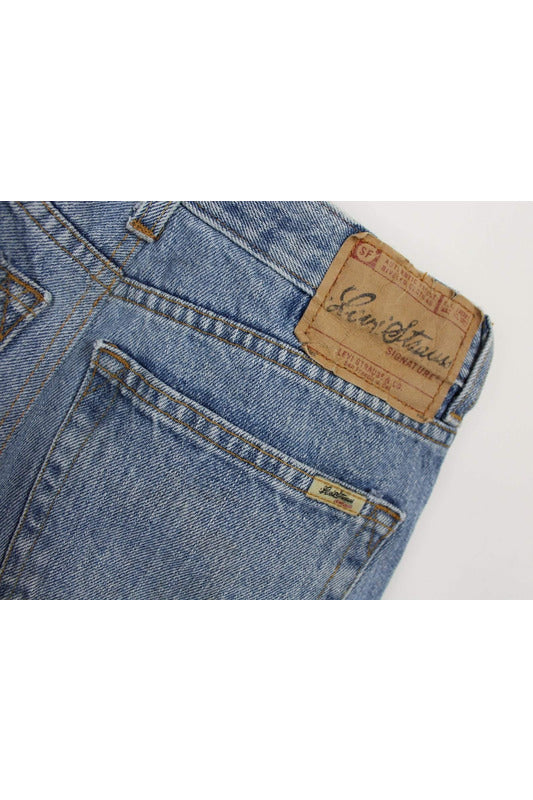 Vintage High-Waisted Levi's Shorts with Distressing - late bird