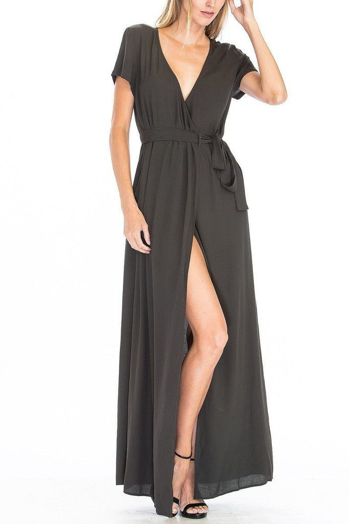Wrap Maxi Dress - late bird