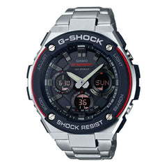Casio GSTS100D-1A4 G-Steel Analog-Digital Stainless Steel Bracelet Men's Watch - TEXET