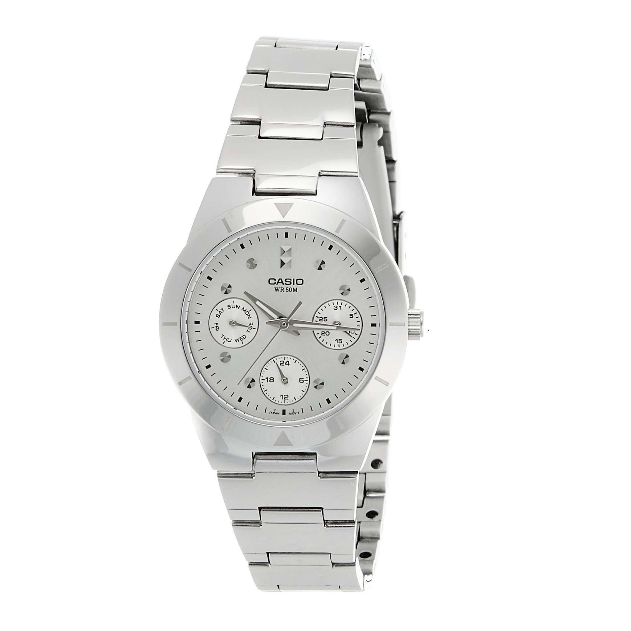 Casio LTP2083D-7AVDF Multifunction Steel Watch - TEXET