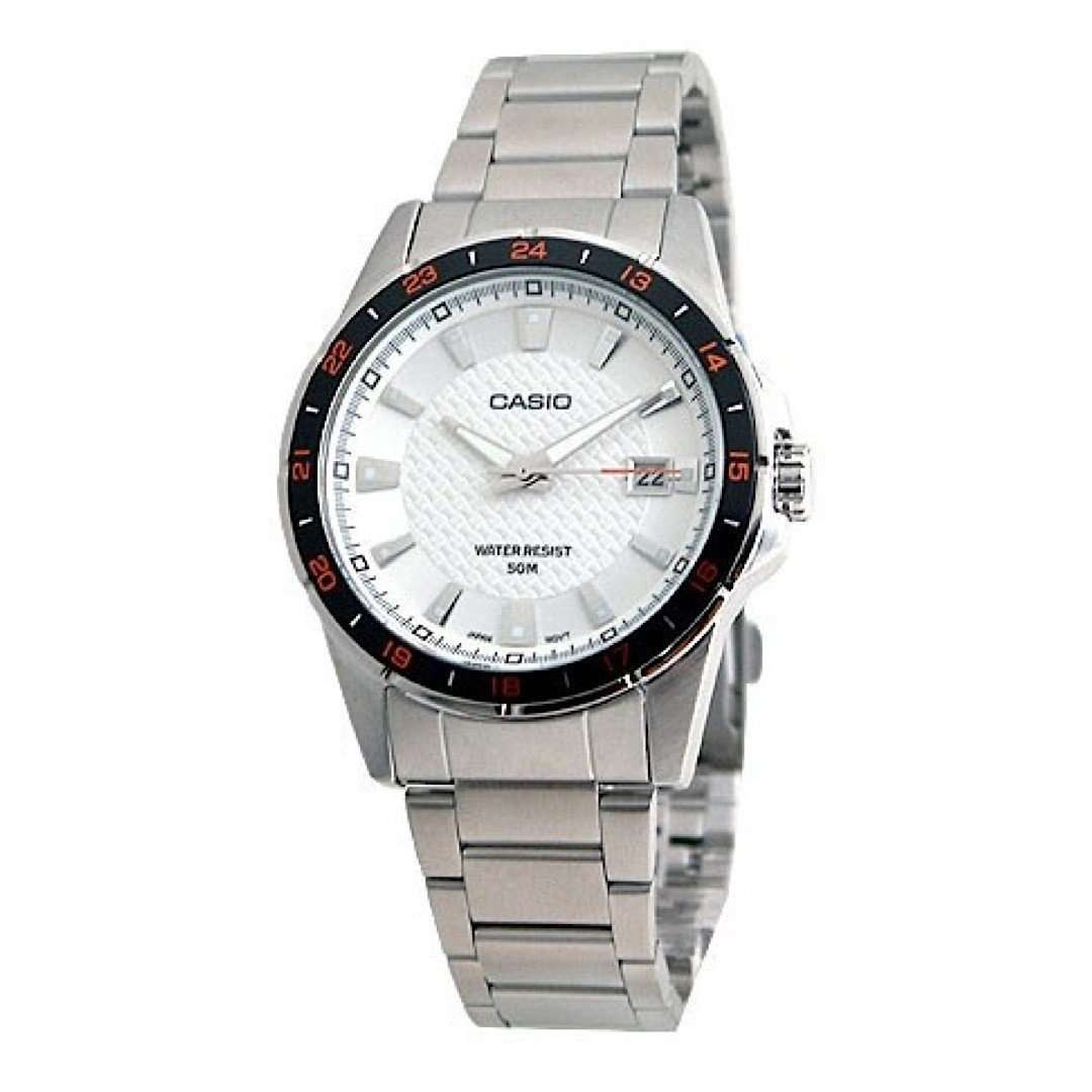 Casio MTP1290D-7AVDF Analog Steel Watch - TEXET