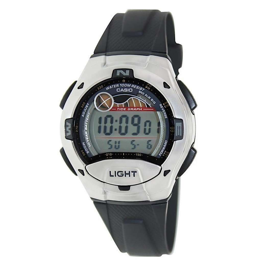 Casio W753-1AVES Digital Sports Watch - TEXET