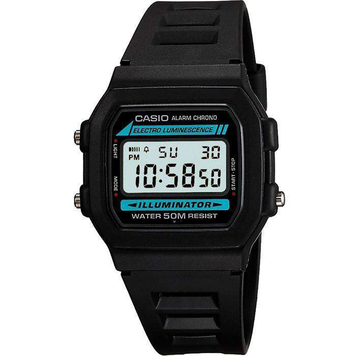 Casio W86-1VQES Digital Illuminator Watch - TEXET