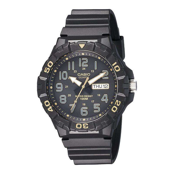 Casio Youth Analog Black Dial Men's Watch-MRW-210H-1A2VDF - TEXET